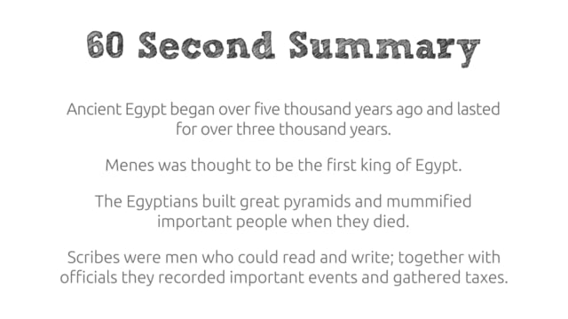 Who were the Ancient Egyptians? - short history video | Squaducation